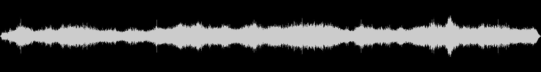 強いうめき声の未再生の波形