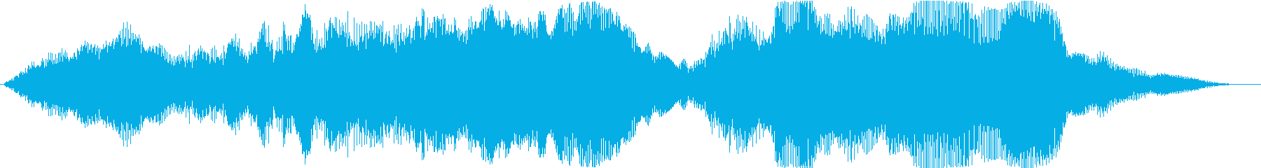 Magnificently finished sound logo with brass instruments's reproduced waveform