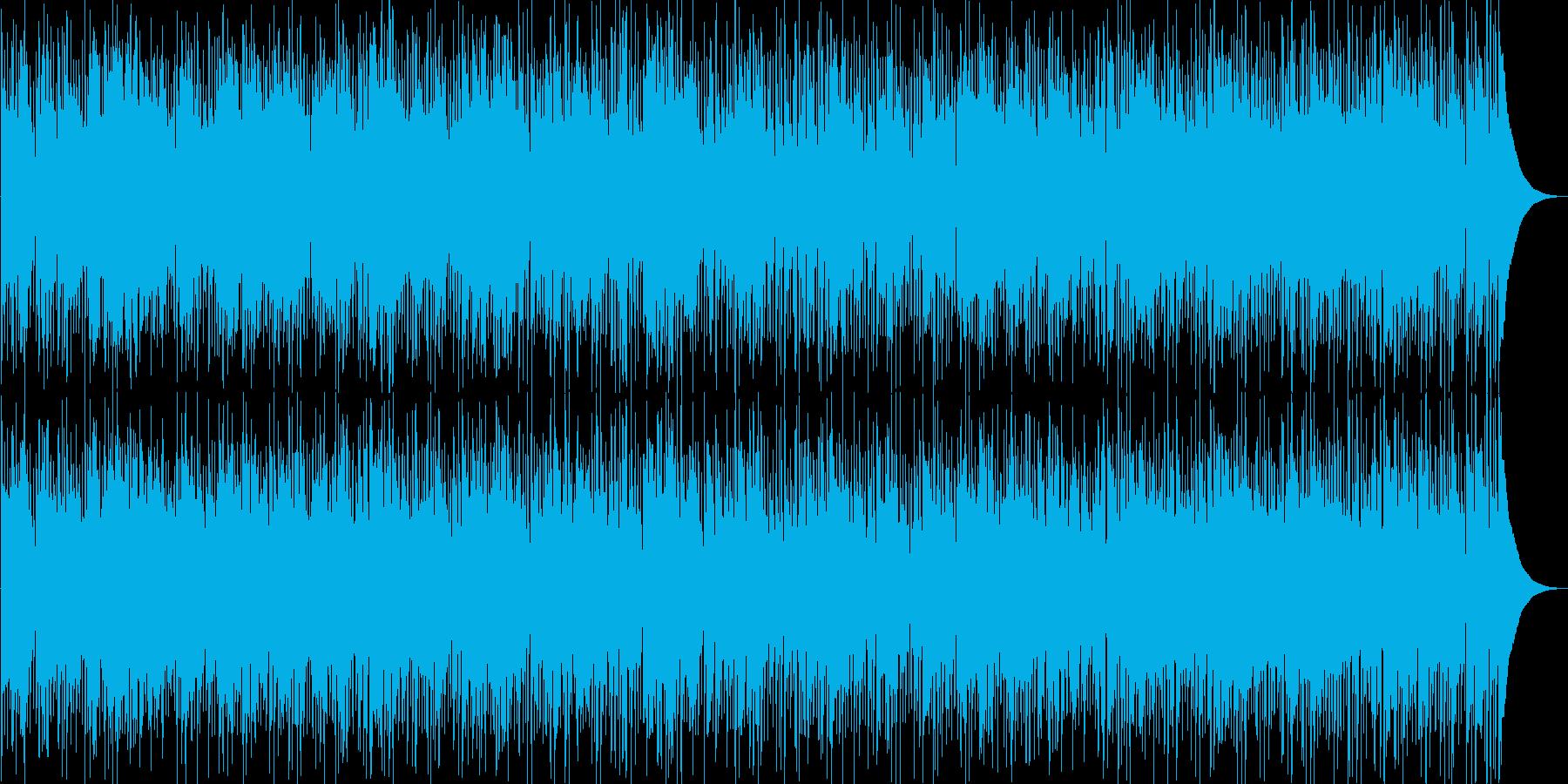 夏の名残りを感じるレゲエ風クールジャズの再生済みの波形