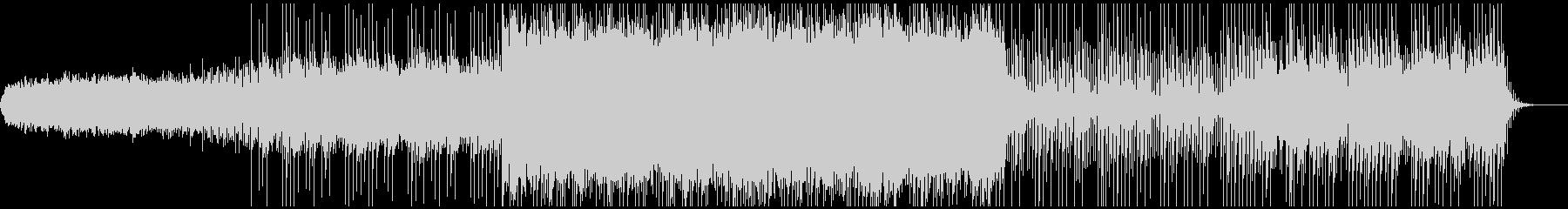 和楽器とシンセサイザーのミックスの未再生の波形