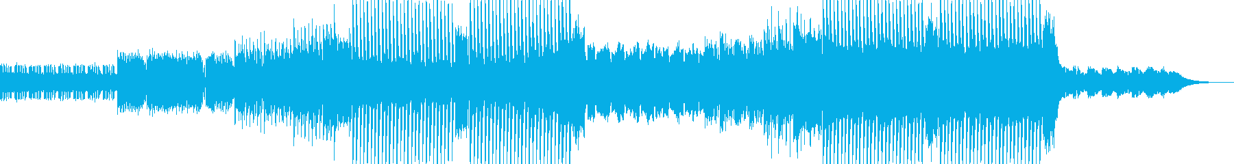 【EDM】モチベーションを上げる動画の再生済みの波形