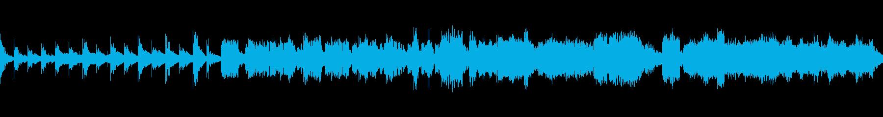 【ループ】クラリネットと鉄琴のヒーリングの再生済みの波形