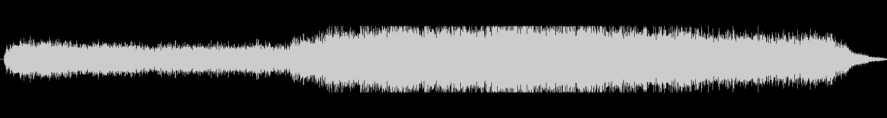 ヒューシュフランジ気流の未再生の波形