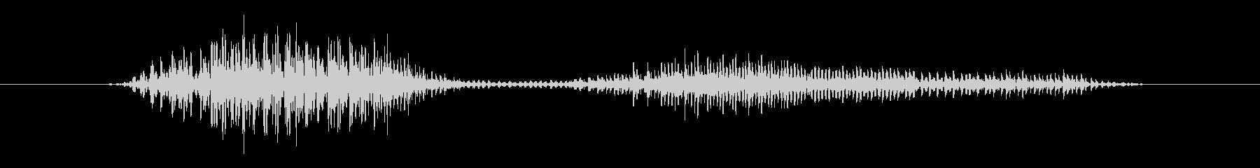鳥 バードレイヴン06の未再生の波形