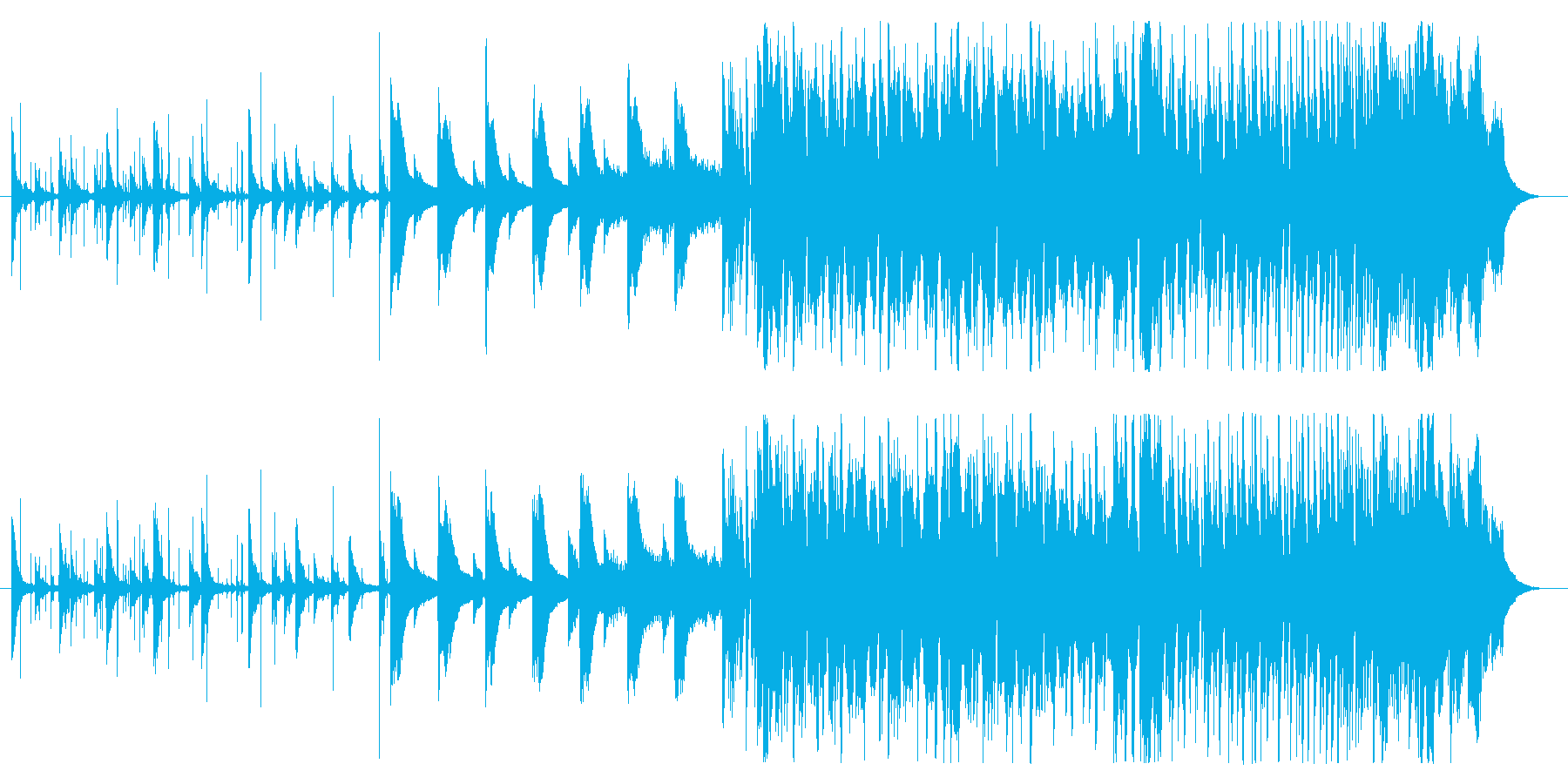 kawaii池ポチャフューチャーベースの再生済みの波形