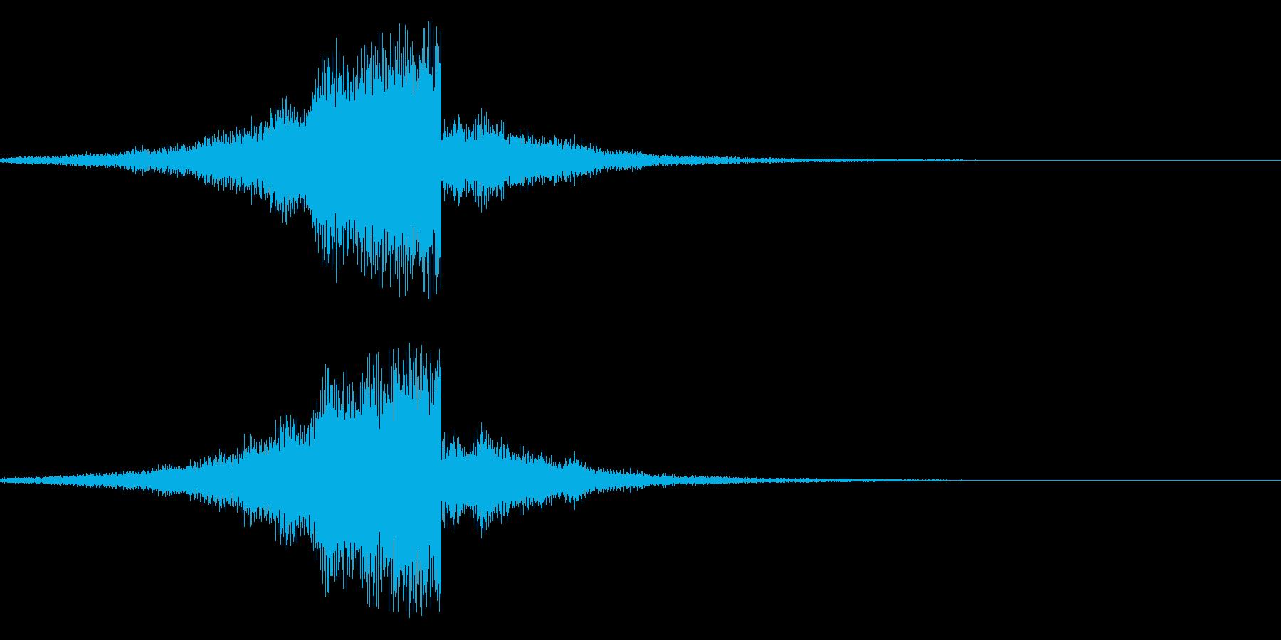フゥーーーーーンの再生済みの波形