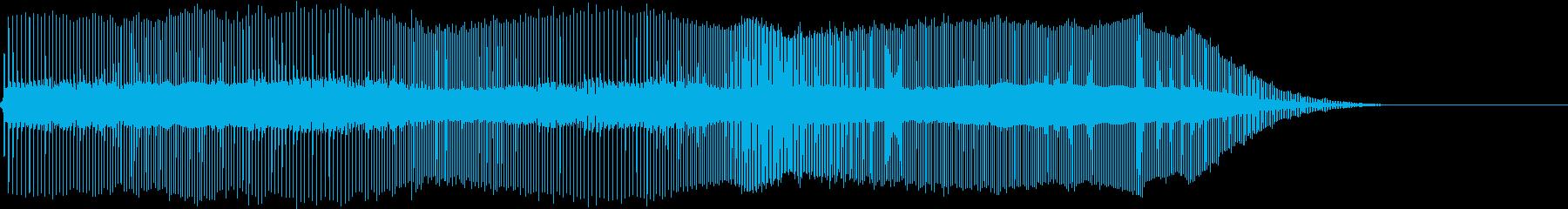 Game 挑発・ブイブイ言わせる様なSEの再生済みの波形