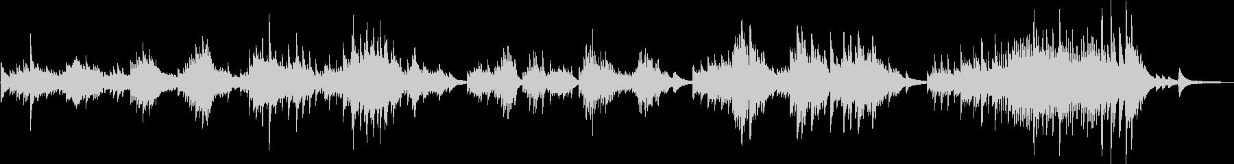 決意(ピアノソロ・リベンジ・切ない)の未再生の波形