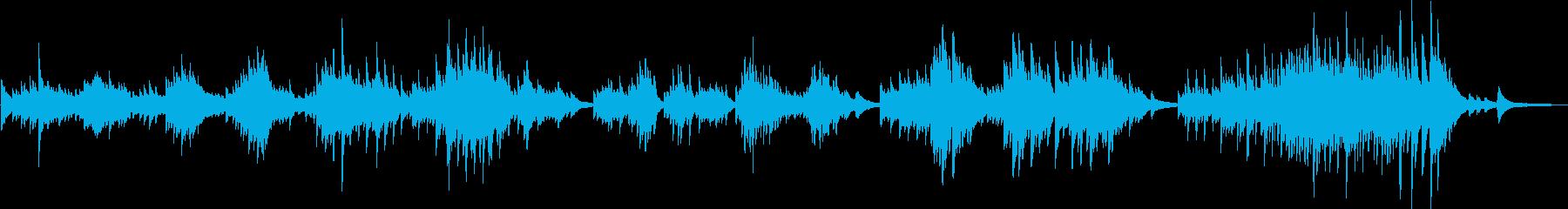 決意(ピアノソロ・リベンジ・切ない)の再生済みの波形