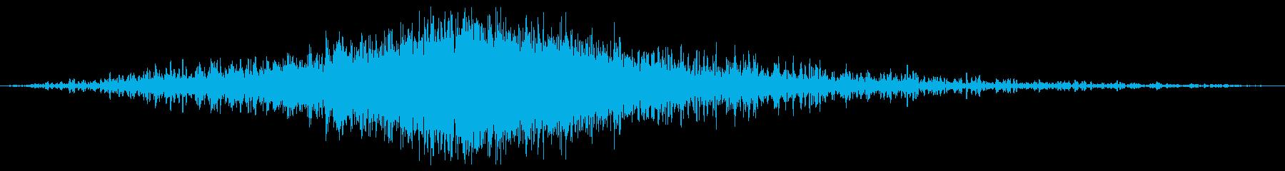 風切り音_(映画のタイトル表示音)の再生済みの波形