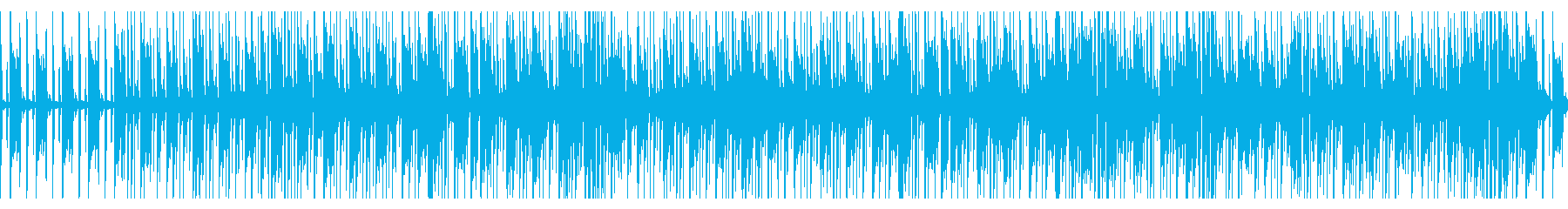 さわやかなアコギとフルートとカリンバの再生済みの波形