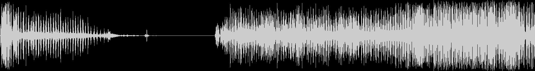 ペイントミキサー:薄いラトルとバイ...の未再生の波形