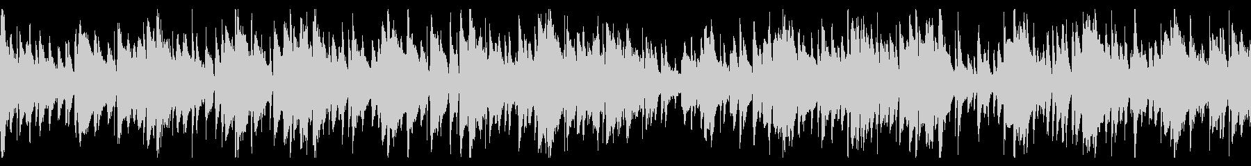 お洒落なジャズピアノトリオ18 ループの未再生の波形