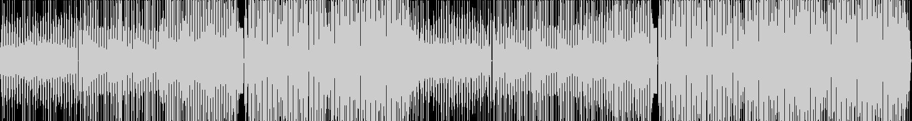 ジャングルを感じるレゲトンビートの未再生の波形