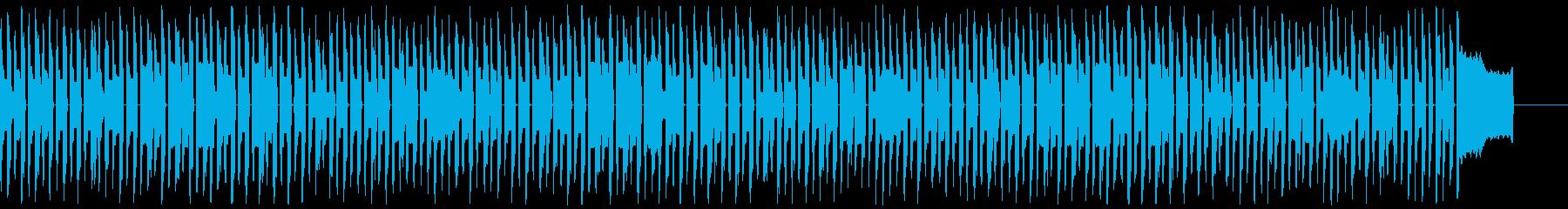 呼び込み君っぽい曲_ドライの再生済みの波形
