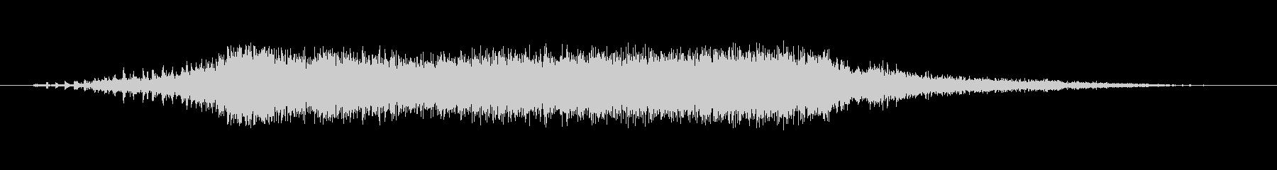 ドリルの音。の未再生の波形