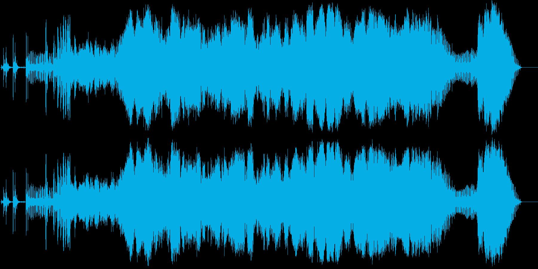 オートバイ;スタート/サークル;ホ...の再生済みの波形