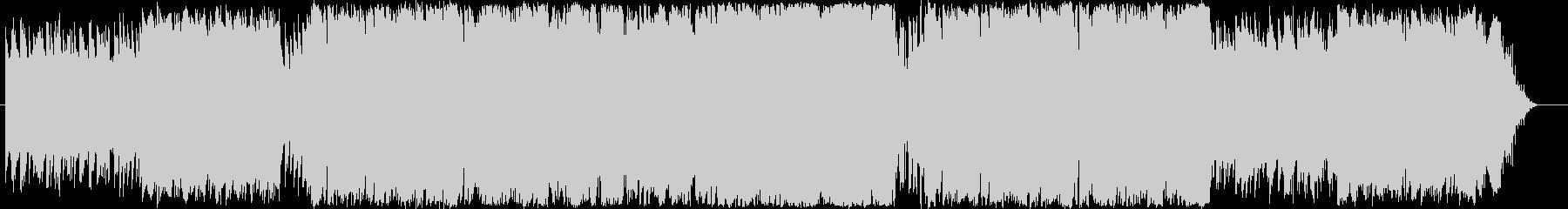 STG等のBGM用テクノの未再生の波形
