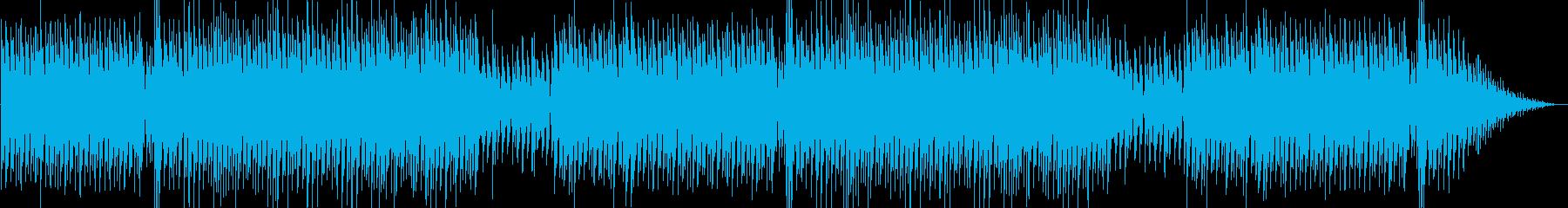 爽やかなピアノシンセポップテクノ系の再生済みの波形