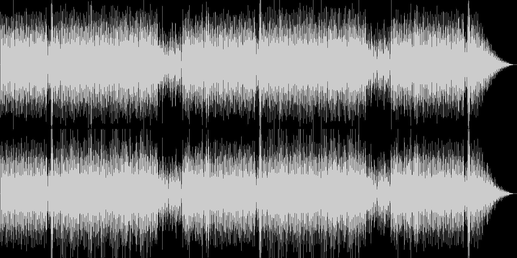 爽やかなピアノシンセポップテクノ系の未再生の波形