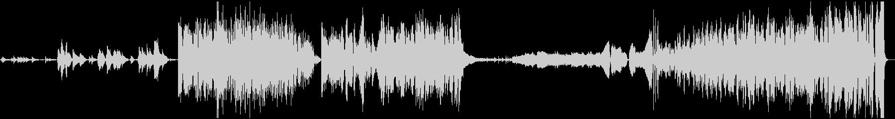コンテンポラリー。クレッシェンド。の未再生の波形