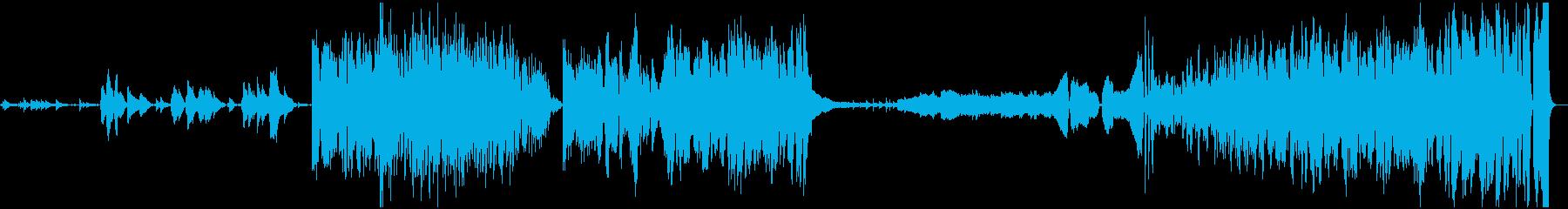 コンテンポラリー。クレッシェンド。の再生済みの波形