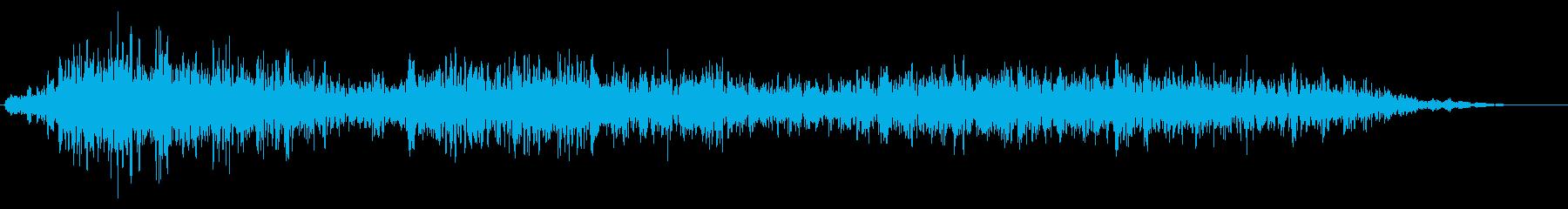 遠くから響く巨大な爆発音#3の再生済みの波形