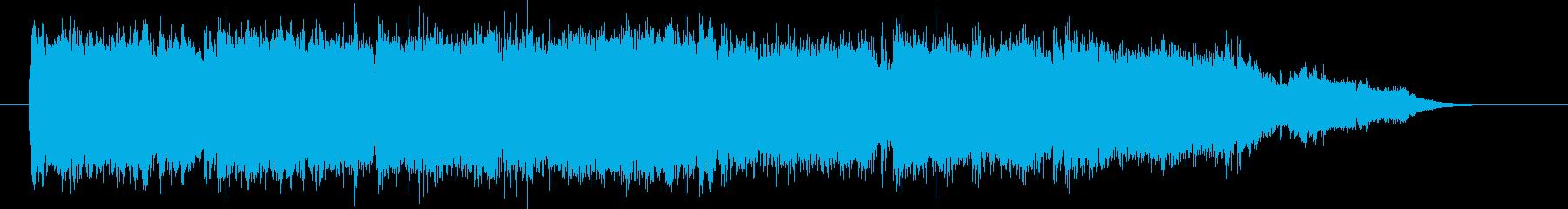 切なく優しいボイスシンセサウンドの再生済みの波形