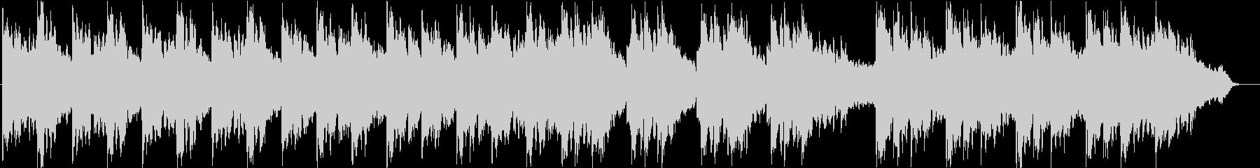 幻想的でエモーショナルなデジピサウンドの未再生の波形