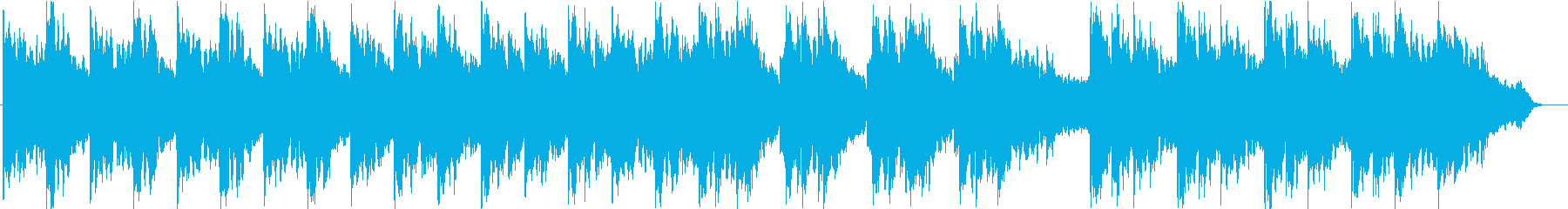 幻想的でエモーショナルなデジピサウンドの再生済みの波形