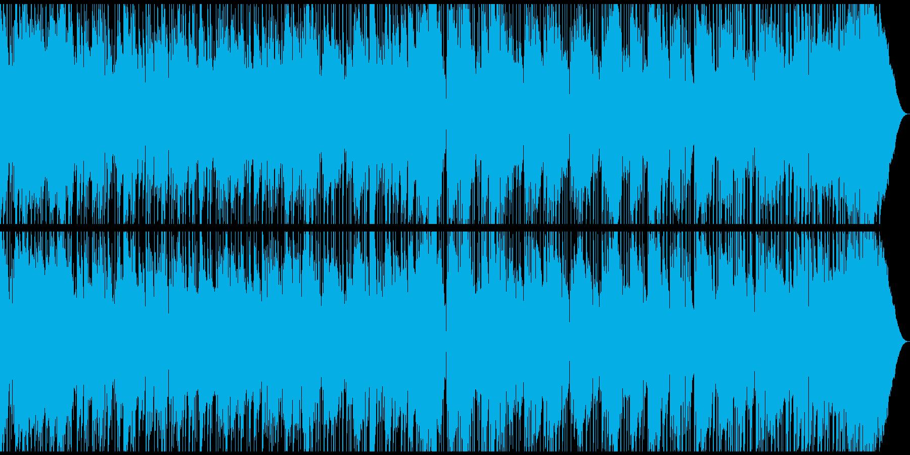 生音生楽器のリラックスしたスムースジャズの再生済みの波形