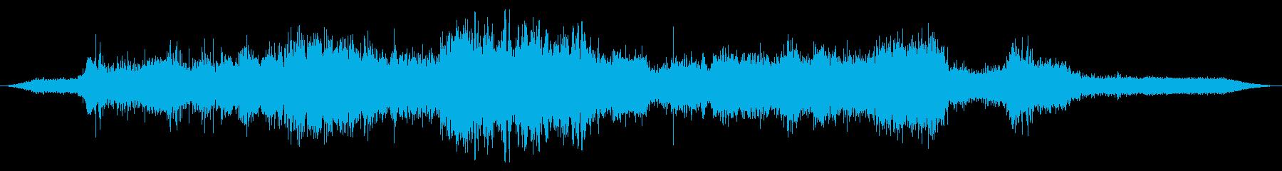 Ext:オンボード:アイドル、高速...の再生済みの波形