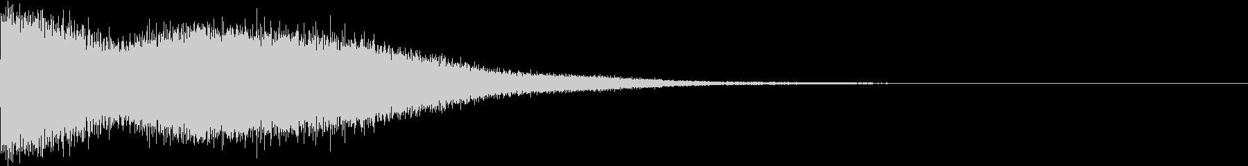 TVFX 目立たせ・アイキャッチ 1の未再生の波形