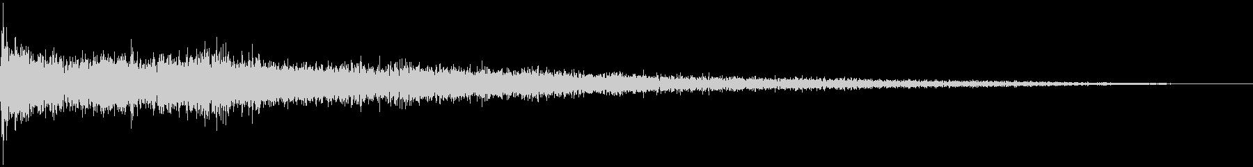 【映画】SFX_19 破壊 ガガガッッの未再生の波形