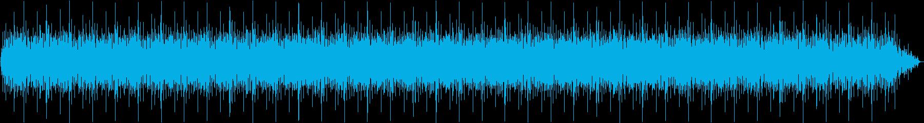 カフェで流れる軽やかなボサノバ、ピアノの再生済みの波形