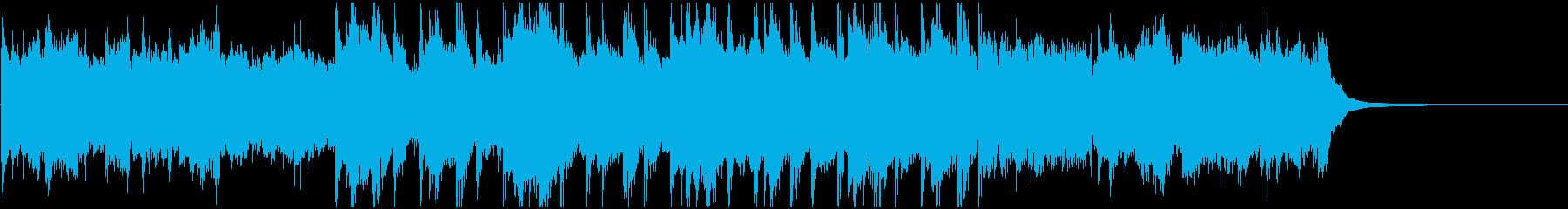 アンビエント アンビエントミュージ...の再生済みの波形
