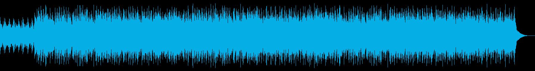 ボサノバ ジャズ ピアノ ナイロンギターの再生済みの波形