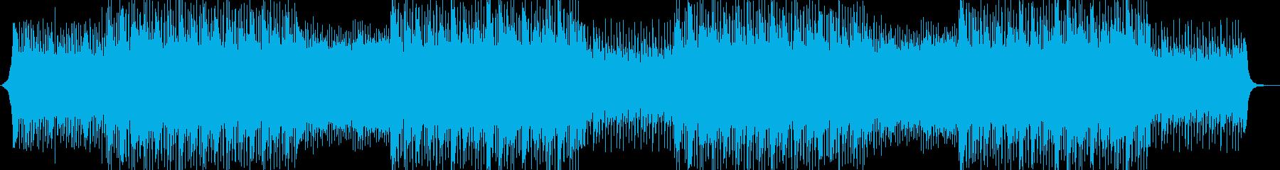 会社紹介、コーポレート、前向き、ピアノの再生済みの波形