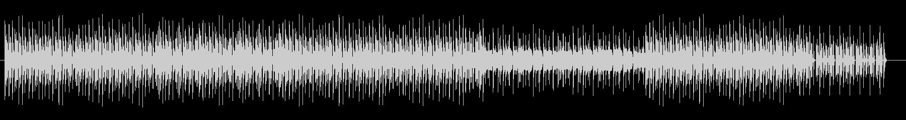 楽しげなマリンバのトロピカルサンバの未再生の波形