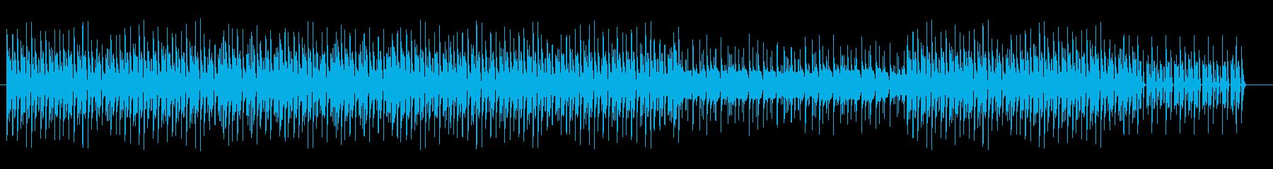 楽しげなマリンバのトロピカルサンバの再生済みの波形