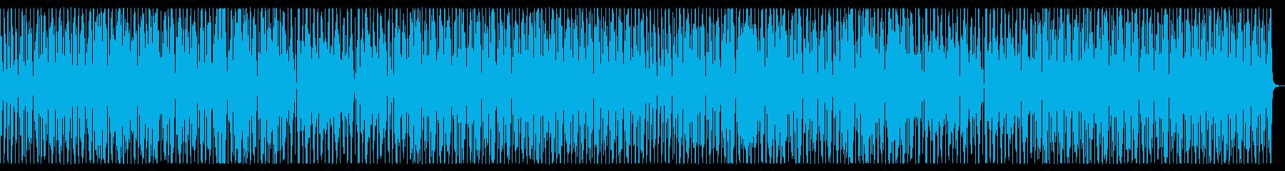 ファンキーでオールドスクールで怪しい曲の再生済みの波形
