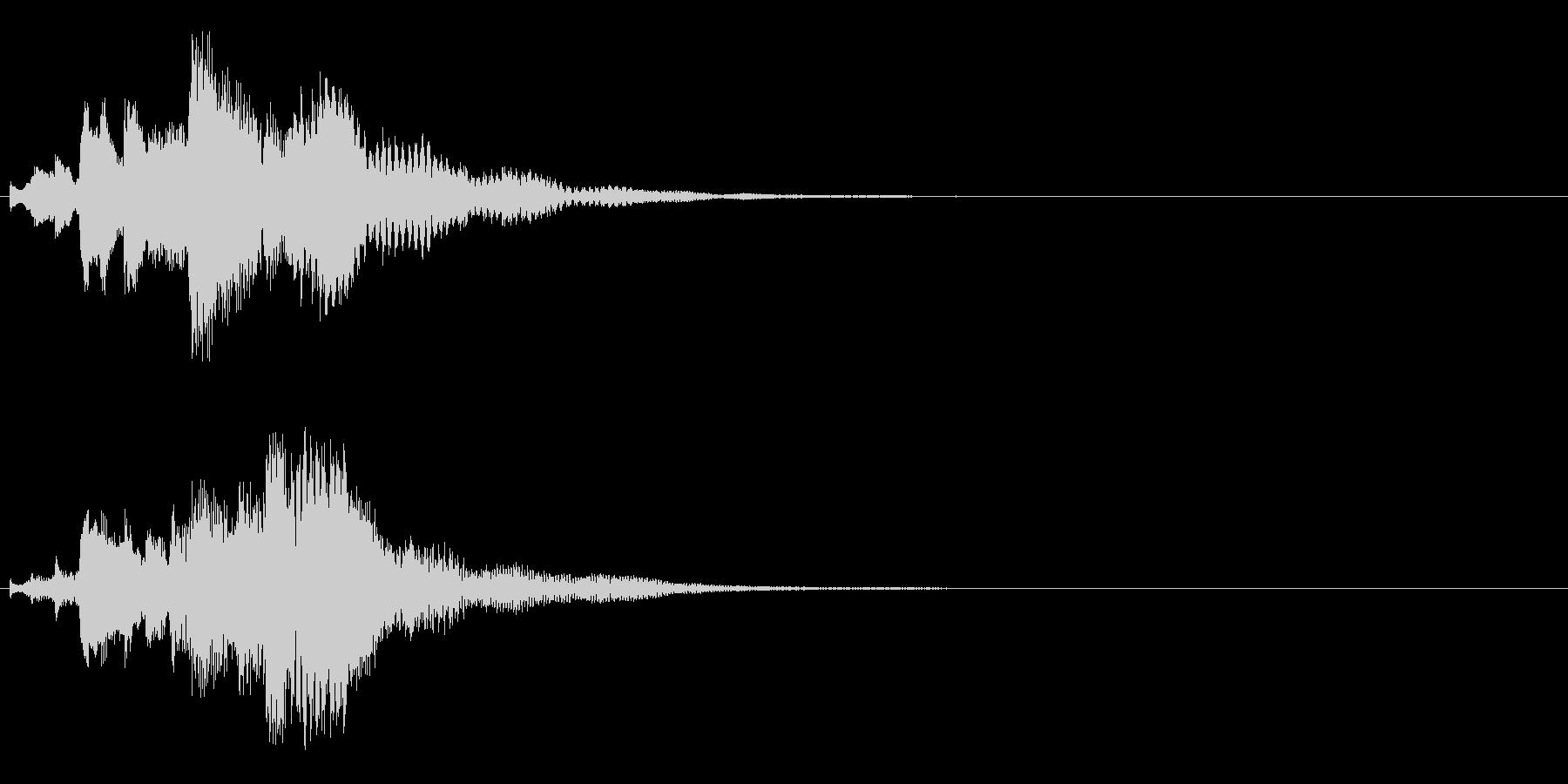 ハープ・下降_5-2の未再生の波形