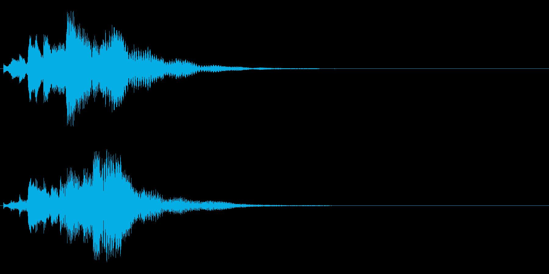 ハープ・下降_5-2の再生済みの波形