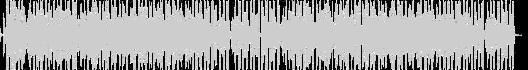 テーマパークで流れるようなビッグバンド曲の未再生の波形