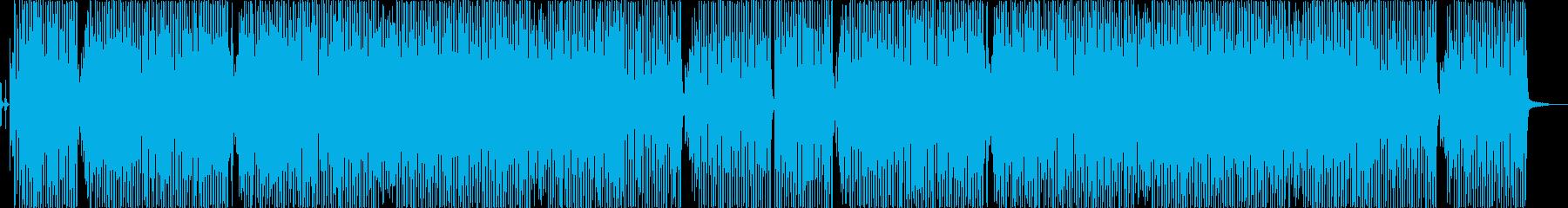 テーマパークで流れるようなビッグバンド曲の再生済みの波形