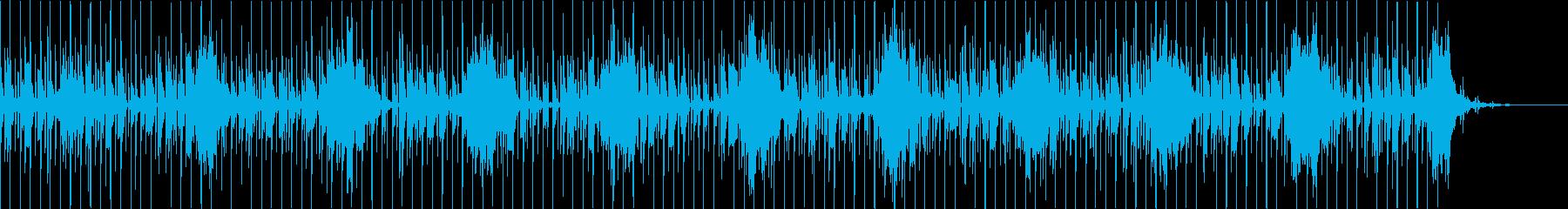 異次元空間に向かう感じのビートの再生済みの波形