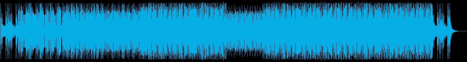 近代的サウンド切ないトラップミュージックの再生済みの波形