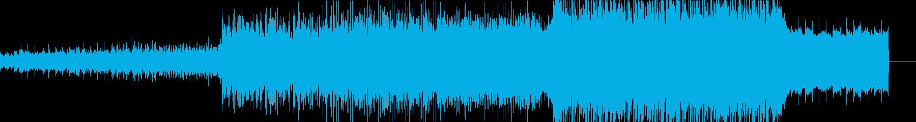 切ないシネマティックなエレクトロの再生済みの波形