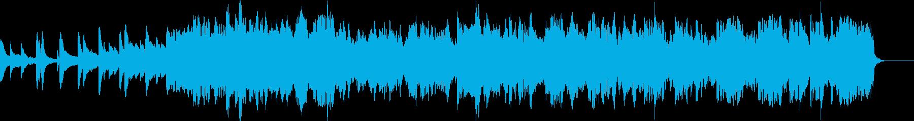 感動的なバラード オーケストラ風の再生済みの波形