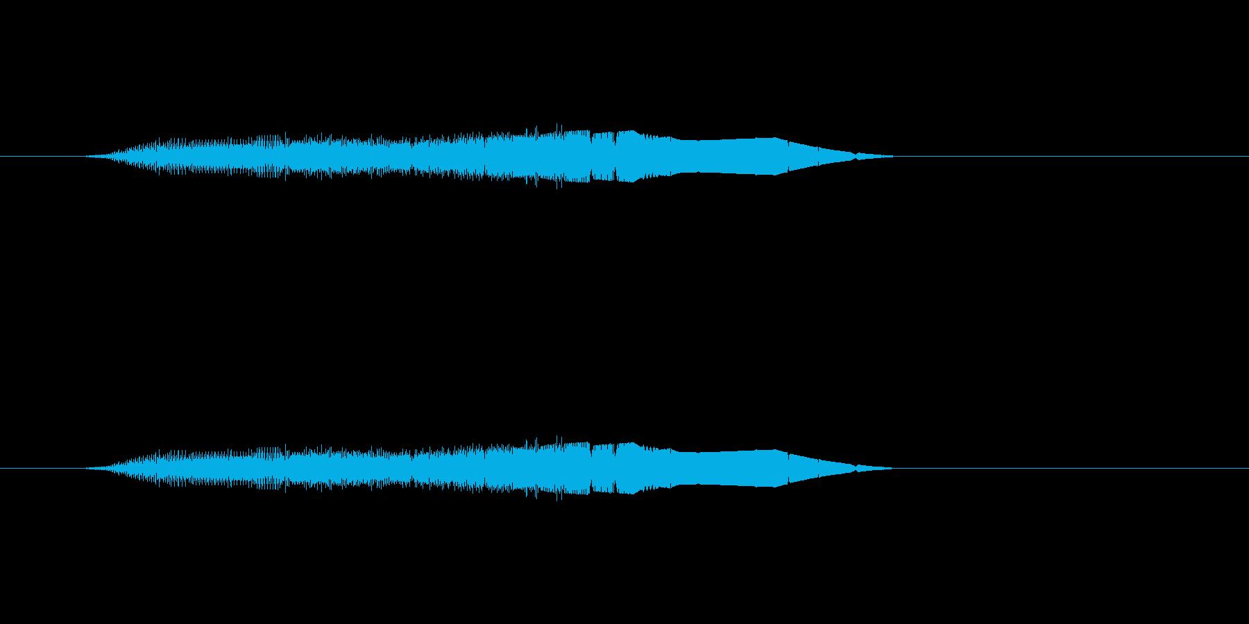 【ポップモーション35-3】の再生済みの波形